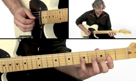 Country Soloing Guitar Lesson – Country Shuffle Solo Performance – Jason Loughlin