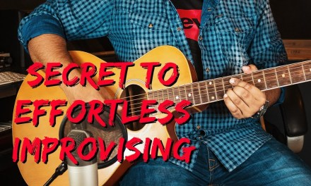 How to Improvise on Guitar Effortlessly in ANY KEY using Pentatonic Scale