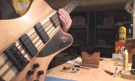 Another Epiphone T Bird Bass Guitar
