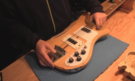 Univox Rickenbacker Copy Bass Guitar