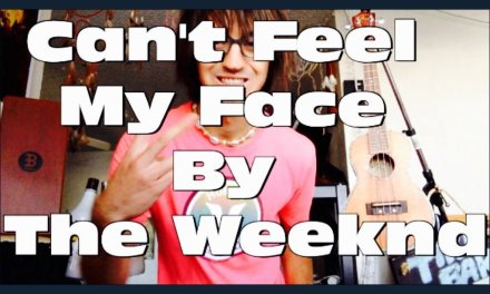 Can't Feel My Face Guitar Tutorial by The Weeknd // Can't Feel My Face Guitar Lesson!