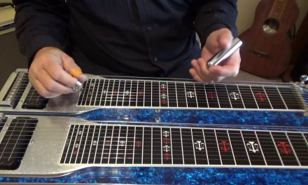 Pentatonic Scales and C6th Lick    Pedal Steel Guitar Lesson