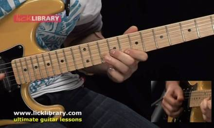 Essential Guitar Lessons – Contemporary Lines by George Marios
