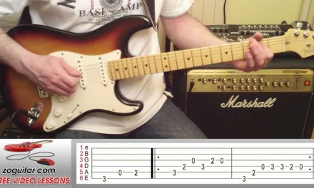 How To Play La Bamba by Ritchie Valens on Guitar (main riff + TAB)
