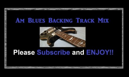 A Minor Blues Guitar Backing Track Collection 40 Minute Long 5 Tracks