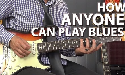 How ANYONE Can Play the Blues – Minimalistic Blues Playing