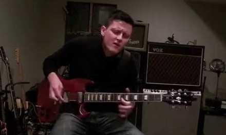 Ty Lacina C MINOR Blues Jam Demo- Lacina's Guitar Lessons