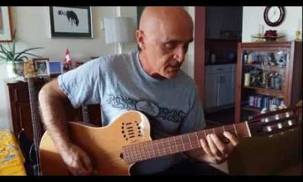 """Guitar LESSON  """"Can't stand the rain""""  Blues  by Chris BIRKETT"""