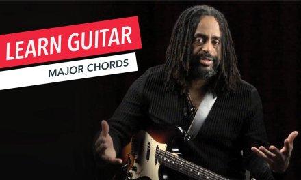 Beginner Guitar Lessons: How to Play Major Chords | Guitar | Lesson | Beginner