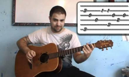 Tutorial: Ode to Joy – Fingerstyle Guitar w/ TAB