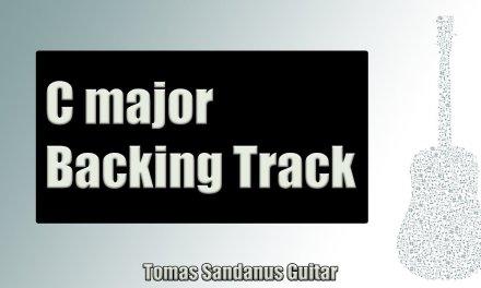 Funky Reggae   Guitar Backing Track Jam in C Major with Chords   C Major Pentatonic Scale
