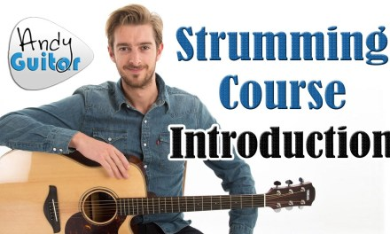 Guitar Strumming Patterns For Beginners – Introduction – Strumming Tutorial #1
