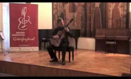 Senja Mula Menangis by Az Samad, performed by Nathan Fischer