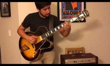 Nuages (Django Reinhardt) – Jazz Guitar Solo