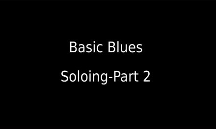 Basic Blues Soloing Guitar Lesson