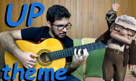 Up theme (Married Life) – Fingerstyle Guitar (Marcos Kaiser) #108