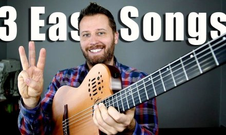 3 EASY Songs for Classical Guitar! – With TAB!