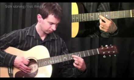How To Play Guitar – Blues Guitar Lesson – D Harmonic Minor Scales