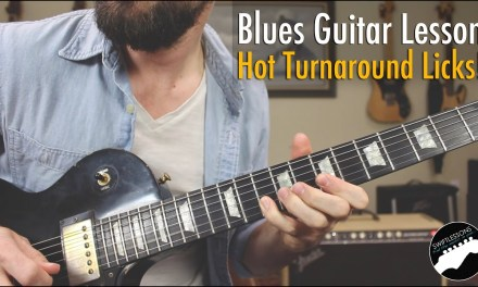 How to Solo Over a Blues Turnaround | Hot Licks Guitar Lesson