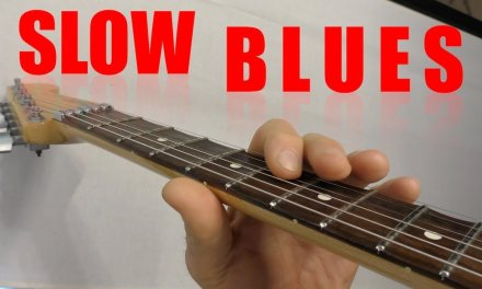 Slow Blues in G Licks Guitar Lesson