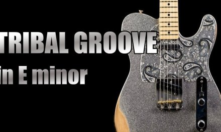 Tribal Groove Jam Backing Track in Em