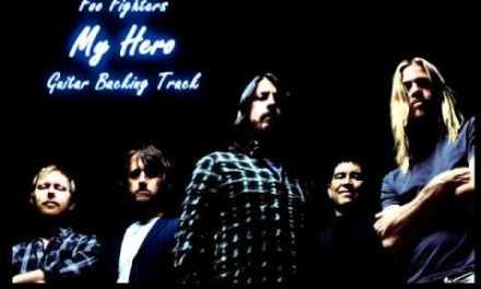 Foo Fighters – My Hero (Backing Track)