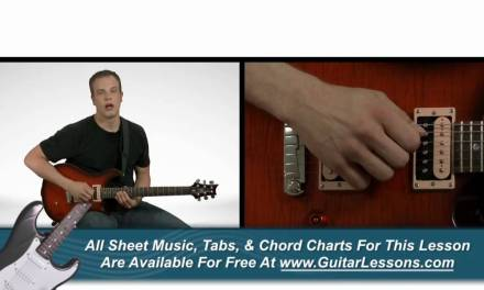 Right Hand Guitar Fundamentals – Guitar Lesson