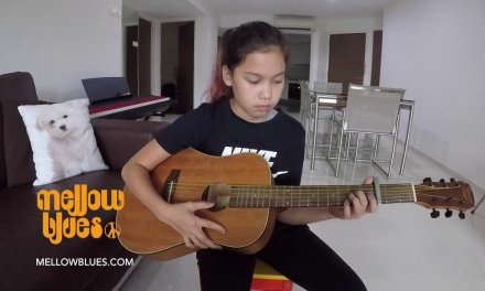 Mellow Blues Guitar Lesson in Singapore : Student Cover of Havana by Camila Cabello
