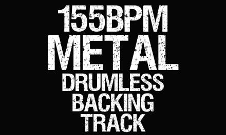Metal Drumless Backing Track 155BPM