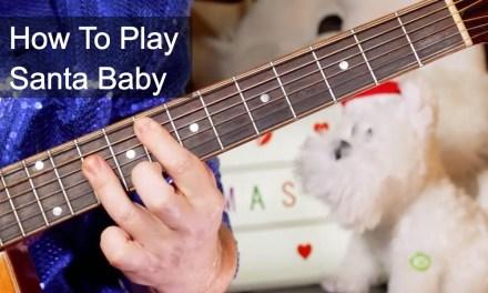 'Santa Baby' Christmas Acoustic Guitar Lesson
