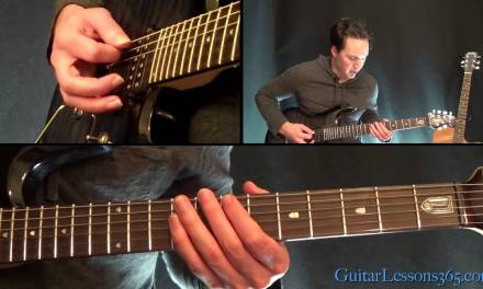 Master of Puppets Guitar Lesson Pt.2 – Metallica – Rhythms