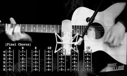 Piledriver Waltz – Arctic Monkeys ( Acoustic Guitar Tab Tutorial & Cover )