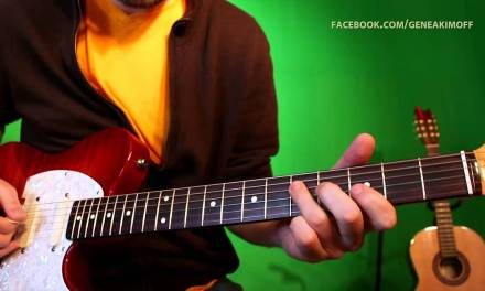 Guitar Lesson Jazz Blues Soloing: Diminished Scale Lick #1 (TAB)