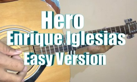 Hero – Enrique Iglesias Guitar Tabs/Lead Lesson In Hindi | Easy Version | Acoustic Imran