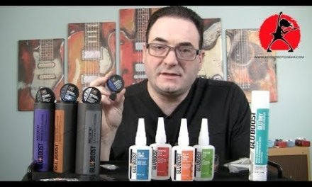 Dealing With A Guitar Finish Repair Using Glu-Boost Products