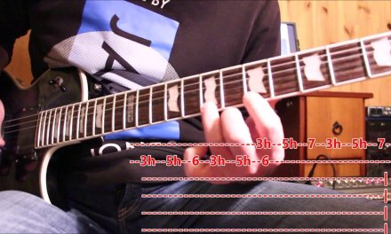 Guitar lesson -7 essential guitar scale exercises –   PART # 2 with TAB