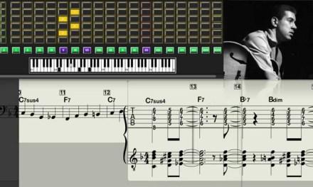 Kenny Burrell – Blues For Basie (1978) – Virtual Guitar Transcription Gilles Rea