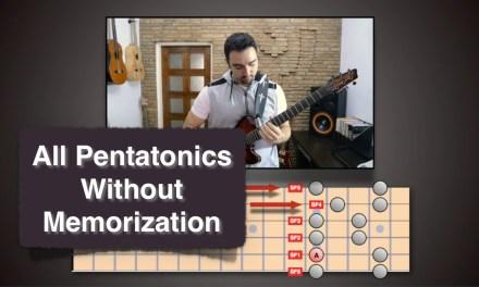All Pentatonic Fingerings without Memorization!