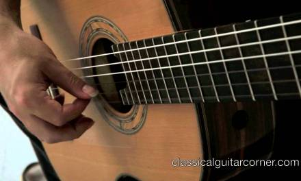 String Crossing on the classical guitar – Right Hand Technique