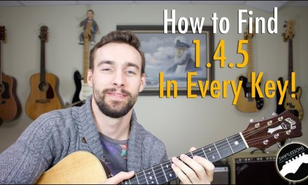 How to Find a 1.4.5 in Every Key on the Guitar – Easy Music Theory Lesson