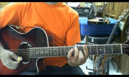 Guitar lesson 1-5 Doors The Crystal Ship George Chatzopoulos