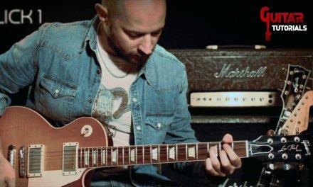 2 Hot Hybrid Picking Blues Licks #1 –  Guitar Lesson with Matt Bidoglia