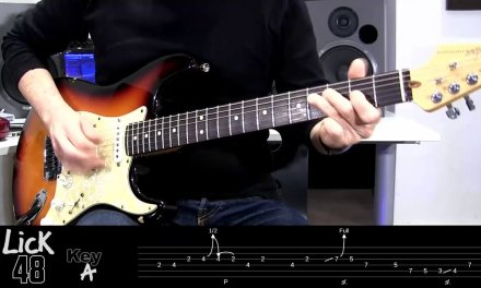 Andy's Lab – Daily Blues Licks #48 – Guitar Lesson