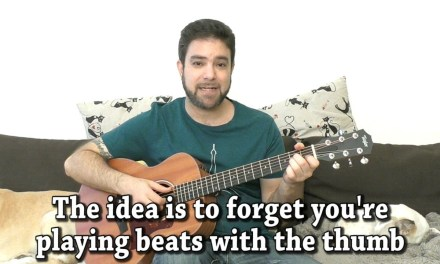 Lesson: Thumb Independence  – 10 Exercises For Fingerstyle Freedom [Guitar Tutorial]