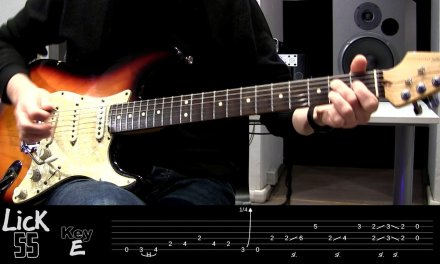 Andy's Lab – Daily Blues Licks #55 – Guitar Lesson