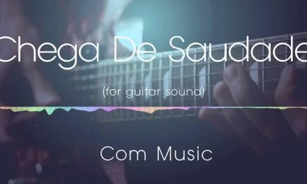 Chega De Saudade jazz backing track   for guitar