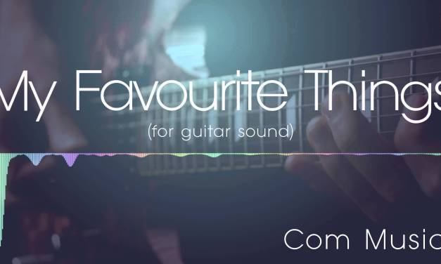 My Favourite Things jazz backing track   for guitar