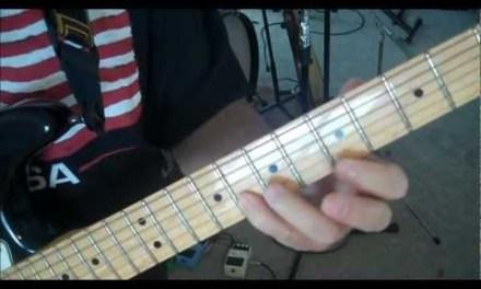 Guitar Lesson: E minor Pentatonic, Blues, 3rds – 3rd Pattern