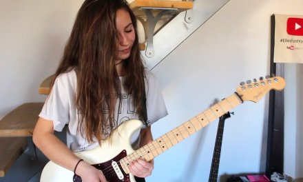 Pink Floyd – Another brick in the wall solo (Cover by Chloé)