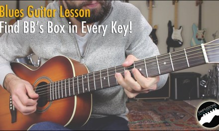 My Secret Blues Trick – How to Play Like BB King in Every Key!